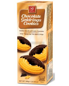 Gross Chocolate Goldring Cookies