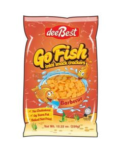Dee Best Go Fish BBQ Crackers