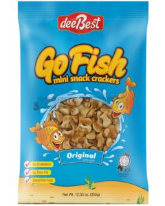 Dee Best Go Fish Original Salt Crackers