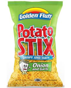 Golden Fluff Large Garlic & Onion Potato Sticks