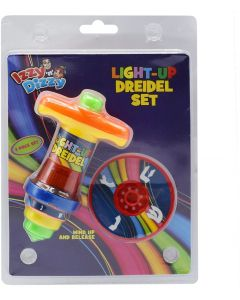 Light up 2 Piece Dreidel Set