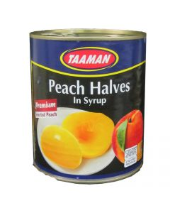 Tamman Peach Halves in Tins