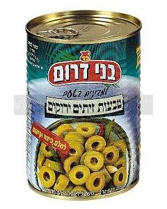 Bnei Darom Sliced Green Olives