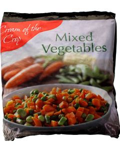 Cream Crop Mixed Vegetables