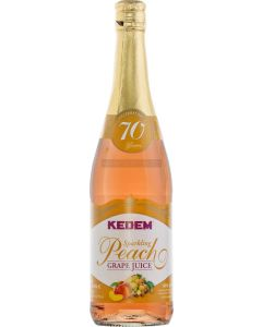 Kedem Sparkling Peach Grape Juice