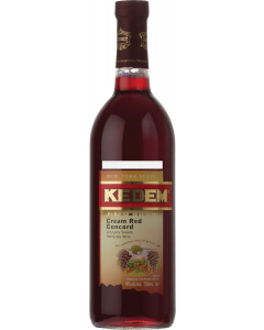 Kedem Cream Red Concord Wine