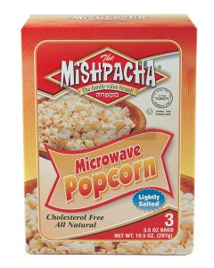 Mishpacha Lightly Salted Microwave Popcorn