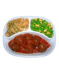 Hermolis Meat Balls with Pasta