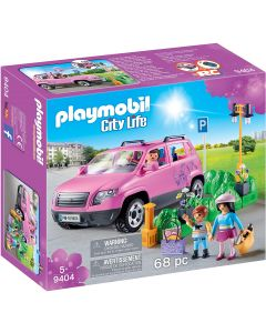 Playmobile Family Car with Parking Space and Removeable Windshield (9404)