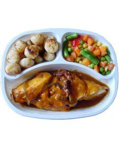 Hermolis Roast Chicken with Vegetables