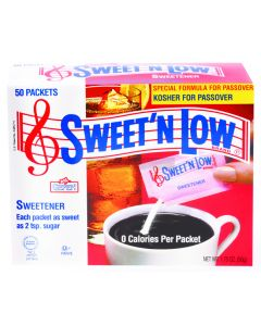 Sweet N Low Artificial Sweetener (50 Sachets )