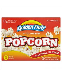 Golden Fluff Regular Microwave Popcorn