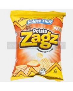 Golden Fluff Small BBQ Potato Zagz
