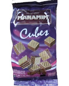Manamim Chocolate Wafer Cubes