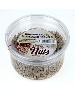 World of Nuts Raw Salted Sunflower Seed Kernels