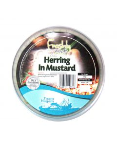 Taam Hayam Kosher Pickled Herring In Mustard