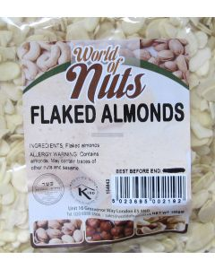 World of Nuts Flaked Almonds
