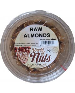 World of Nuts Raw Almonds