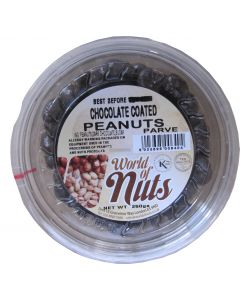 World of Nuts Kosher Chocolate Coated Peanuts
