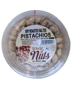 World of Nuts Dry Roasted Salted Pistachios