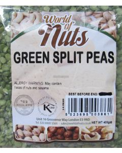 World of Nuts Split Green Peas