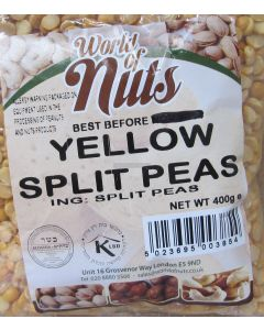 World of Nuts Split Yellow Peas